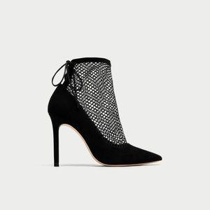 Zara Mesh Heels
